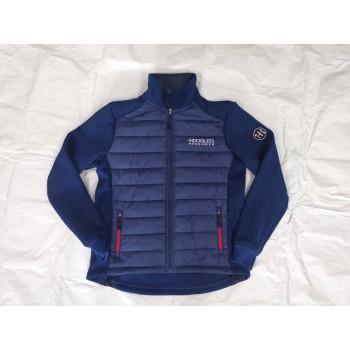 5001 Fleece vest with cap