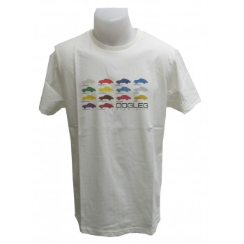 3514 Tees 14 DL white Porsche colour card