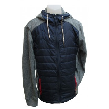 5001 Fleece vest with cap