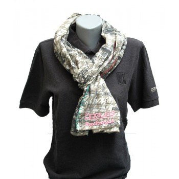 3602 Women's shawl grey