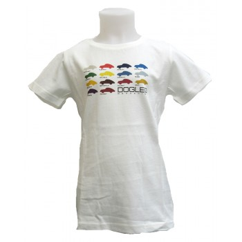 3906 Kids Tee DL white Porsche card